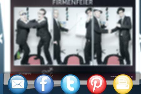 Social Media spiegelbox