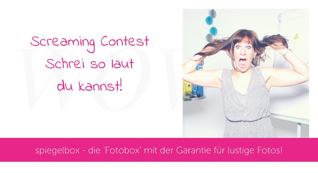 Slider Screaming Contest spiegelbox